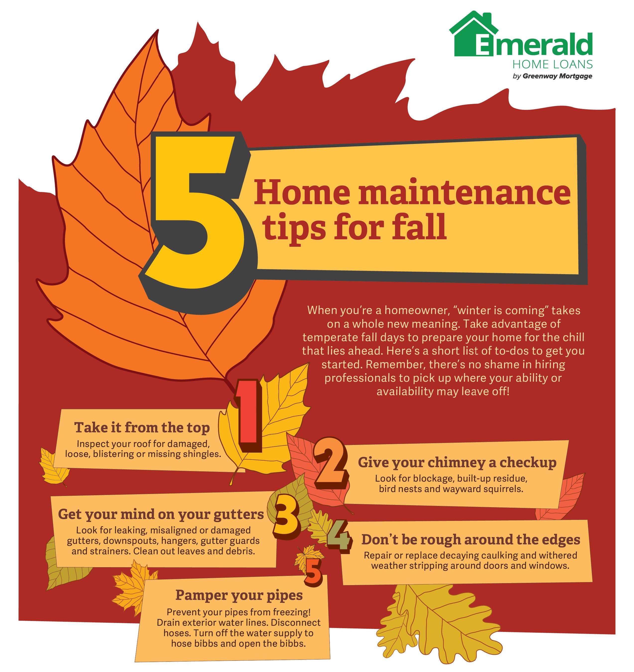 Fall Maintenance Infographi